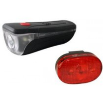 BATTERIE LAMPEN SET 0,5 W LED 2-FUNKTIONEN MIT BATTERIEN